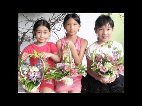 兒童花藝夏令營