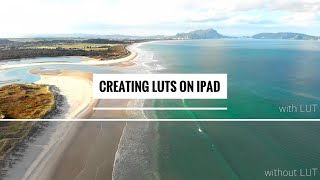 Creating LUTs on an iPad using Affinity and LumaFusion - How To Tutorial