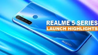 Realme 5 Pro and Realme 5 Launch Event Highlights