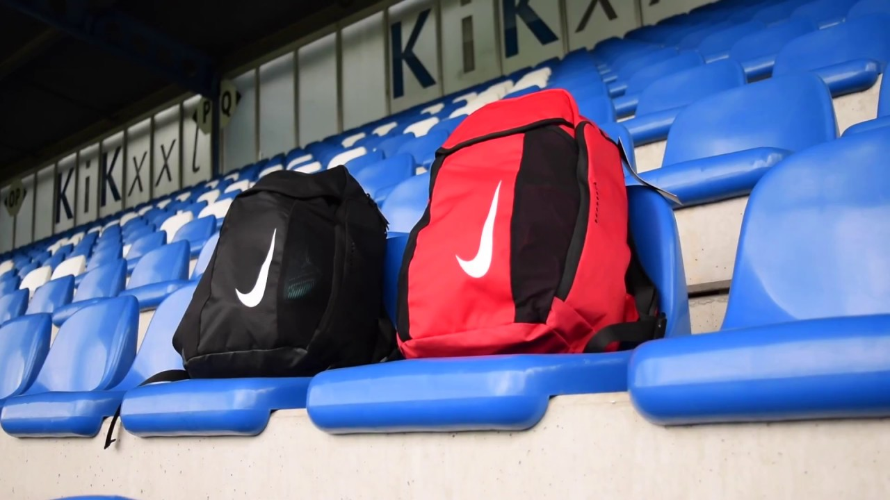 02a87ff1dc61c2 Nike Academy Team Backpack - YouTube