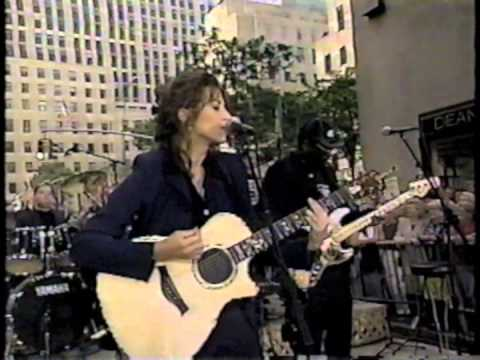 Amy Grant performing 'Takes A Little Time' on Today Show in 97