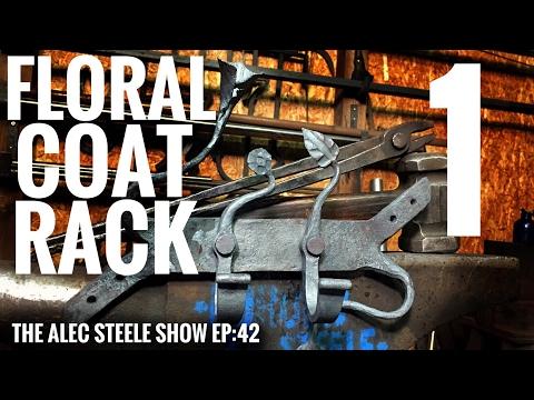 BEAUTIFUL FLORAL COAT RACK!!! Episode 41: The Alec Steele Show!!