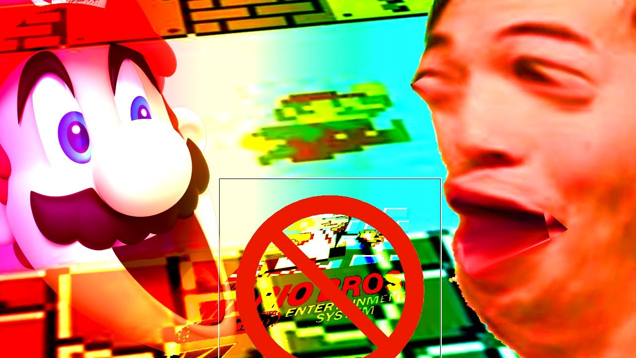 Can YOU! beat Super Mario Bros. WITHOUT JUMPING!!!???