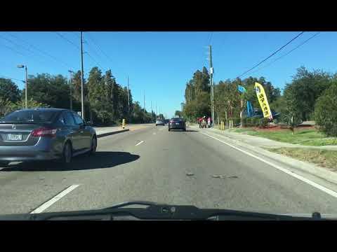 Bloomingdale Ave - Dash Cam - Brandon Florida.