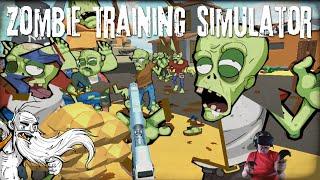 """I SCREAMED LIKE A LITTLE GIRL!!!"" - HTC VIVE Zombie Training Simulator VR 1080p HD"