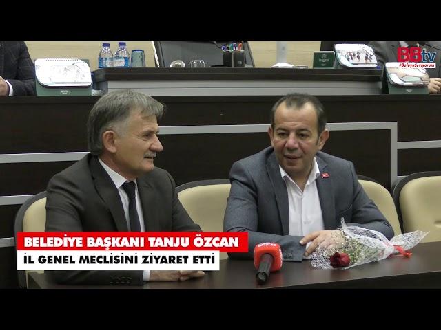 Başkan Özcan'dan İl Genel Meclisine ziyaret - #BoluyuSeviyorum