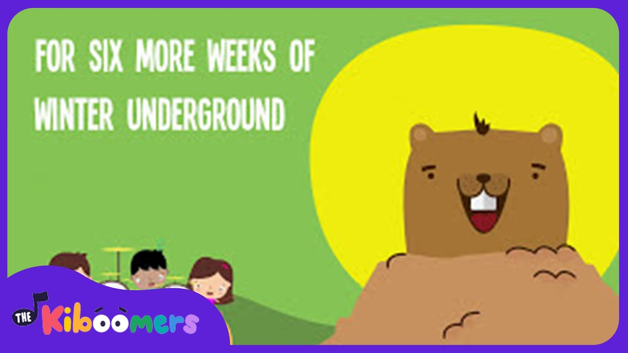 Uncategorized Groundhog Day Videos groundhog day for kids song lyric video the kiboomers youtube