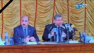 قصر الكلام - وزير التعليم العالي يفتتح منشآت جديدة بجامعة الفيوم