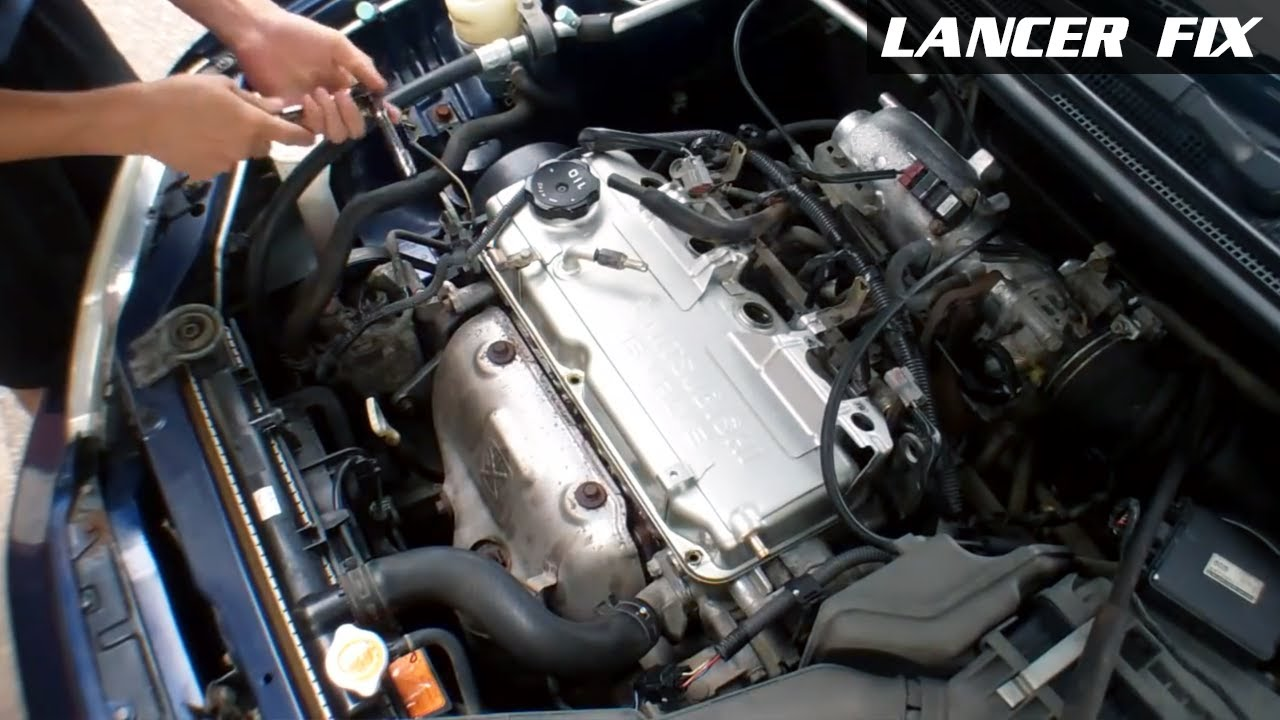 Lancer Fix 1   Rough Idle  Engine Light  O2 Sensors P0421  YouTube
