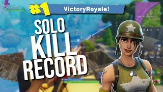 JOEMONTANA GETS NEW KILL RECORD | VERY HIGH KILL SOLO (Fortnite Battle Royale Gameplay)