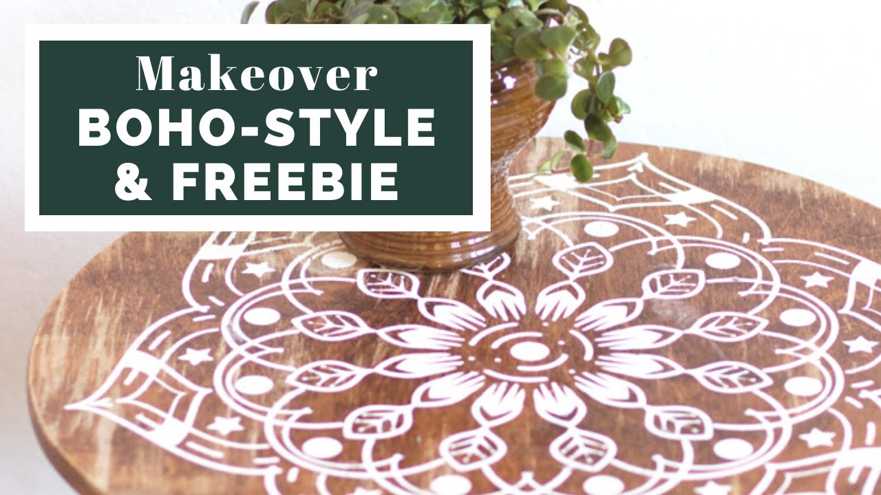 alte m bel aufpeppen mit mandala freebie upcycling. Black Bedroom Furniture Sets. Home Design Ideas