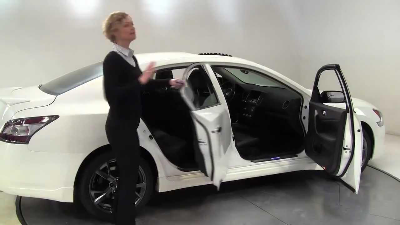 The New 2013 Nissan Maxima SV W/Sport Pack Feldmann Nissan Bloomington MN  New Walk Around   YouTube