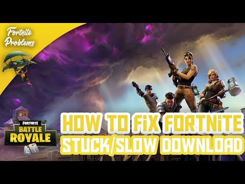 How To Fix Fortnite Slow/Stuck Download | Epic Games Launcher (New Fix)
