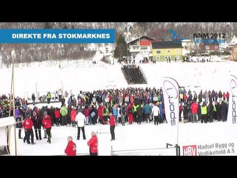 Åpningssermoni NNM2012 på ski. Stokmarknes