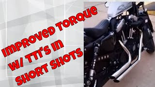 Gambar cover DK Custom Products Short Shot V&H Exhaust Thunder Torque Inserts TTI