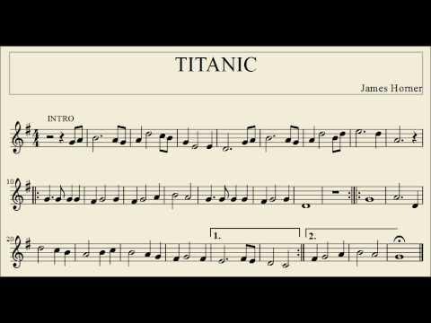 Titanic - partitura