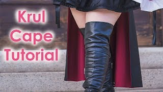 Krul Tepes Cosplay Tutorial Part 1: Buttcape