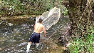 Serpme Balık avı Manzara Harika güzel