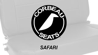 Corbeau Safari Fold & Tumble Bench Seat