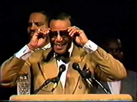 The Hon. Louis Farrakhan; Let us make man, New york city