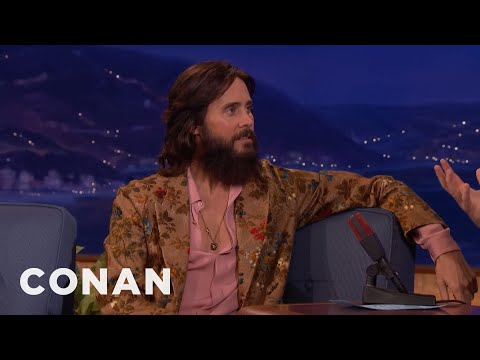Jared Leto Had An Offer To Play Charles Manson   CONAN on TBS