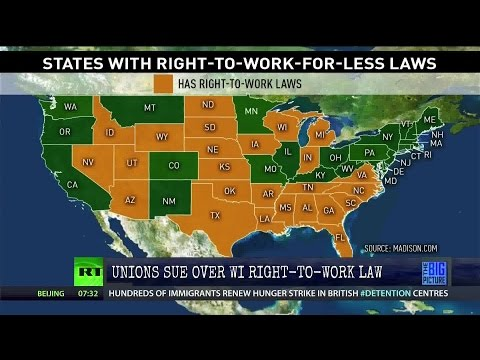 Rumble: Unions Sue Over the Right to Work for Less Law