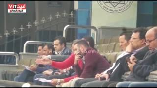 حازم إمام يساند منتخب الشباب أمام المغرب