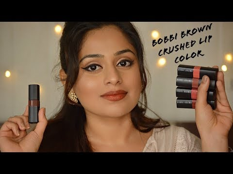 NEW Bobbi Brown Crushed Lip Colors - Review & Swatches