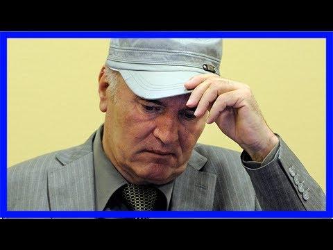'butcher of bosnia' ratko mladic awaits verdict for crimes against humanity