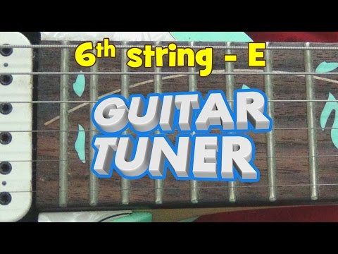 guitar-tuner---standard-tuning-for-electric-guitar-with-distortion!