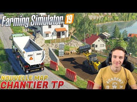 🔴 UNE MAP TP AVEC DES NOUVEAUX CHANTIER ! Farming Simulator 19
