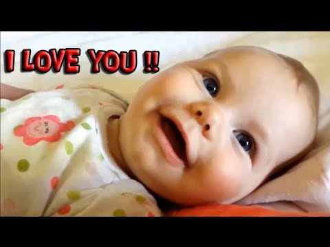 Cute Babies Saying I Love You For The First Time Awesome Moments