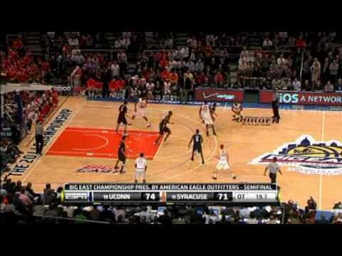 Uconn & Kemba Walker Big East Tournament Highlights 2011