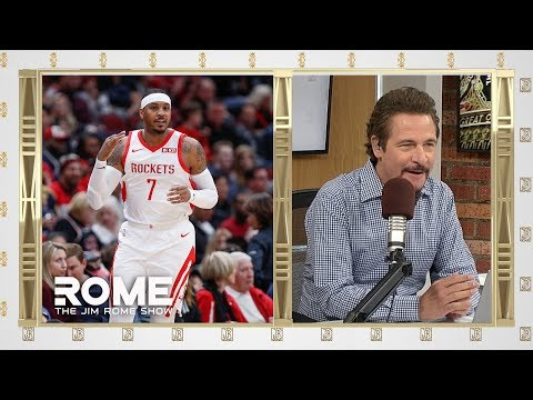 Carmelo Goes Cold! | The Jim Rome Show