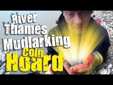 Coin Hoard! - Mudlarking River Thames in Gravesend