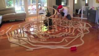 Merry Christmas Train Set Fun - Toy Train Track 16