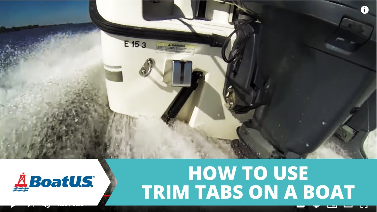 medium resolution of how to use trim tabs boatus