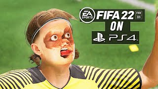 FIFA 22 : PS4 GAMEPLAY 💔  | IS IT WORTH IT? | (PS4 VS PS5) REVIEW