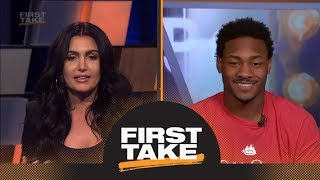 Stefon Diggs joins First Take, talks Vikings' season and Super Bowl predictions | First Take | ESPN