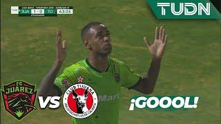Rolán marca el primero | Juárez 1 - 0 Tijuana | Liga MX - Apertura 2019  - Jornada 17 | TUDN