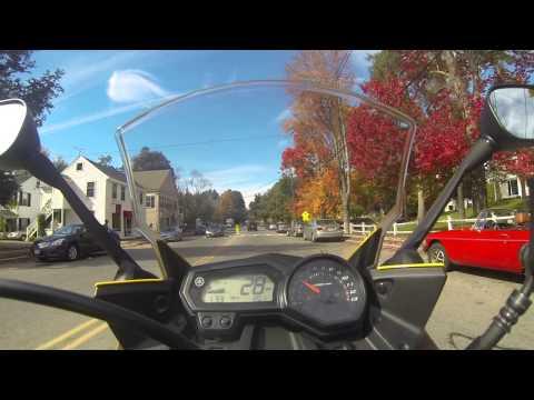 Yamaha FZ6R Western Mass & NH Fall Ride