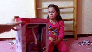 Детский пылесос игрушка Видео для детей про игрушечный пылесос распаковка