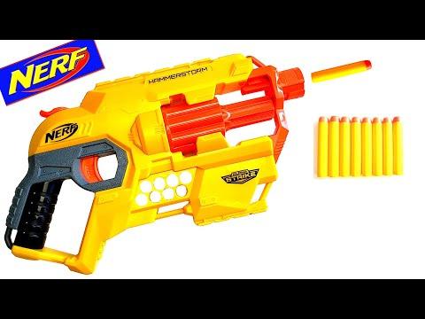 AWESOME NERF GUN ONLY $14.99 - Nerf Alpha Strike Hammerstorm!
