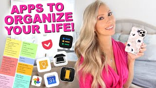 7 BEST APPS FOR ORGANIZATION AND PRODUCTIVITY! *I Can't Function Without These
