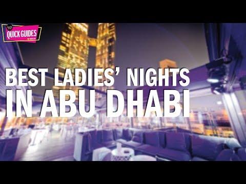 Abu Dhabi's best ladies' nights in 2019