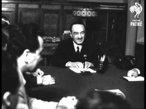 Iraq Government Delegation In Moscow (1959)
