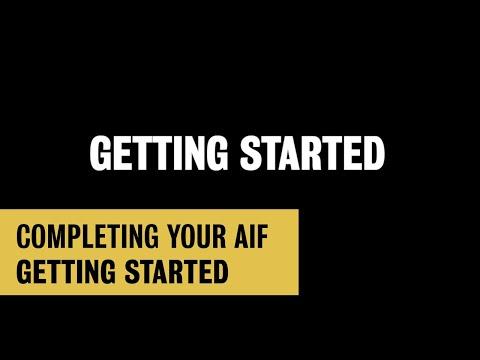 Waterloo AIF: Getting Started