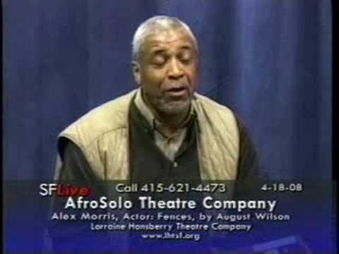 Alex Morris, Actor, interview on AfroSolo.TV