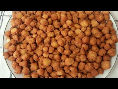 Les mini croquettes Atchonmon ou petits cailloux