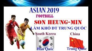 South Korea vs China | Live Asian Football Game | Son Heung Min Làm Khổ ĐT Trung Quốc